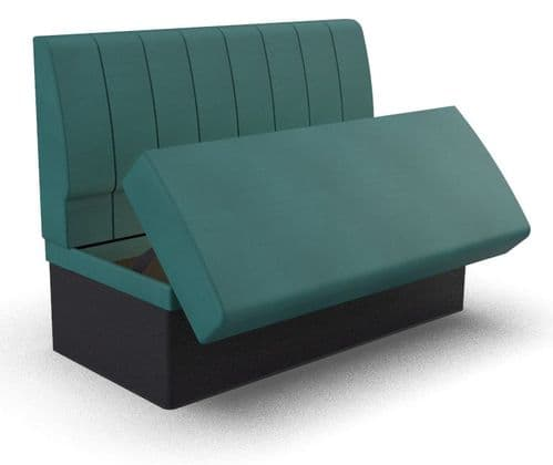 Lifetime Compact - Fluted Storage Seating